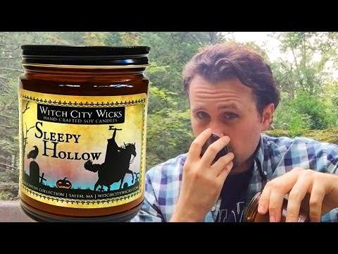 Witch City Wicks SLEEPY HOLLOW Candle Analysis / Review - The Candle Enthusiast