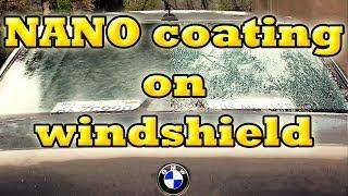 Nanotechnology Car Windshield Repellent Glass Sealer - NANO COATING - BMW 735iL e38 (2001)