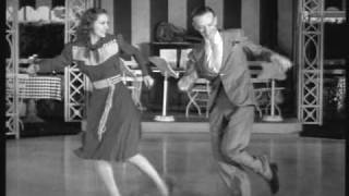 Eleanor Powell and Fred Astaire. Tap Dance duet.