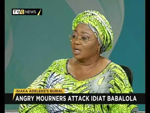 Why I was attacked during Senator Isiaka Adeleke's burial - Idiat Babalola