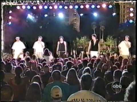 98 Degrees & O-town On Dick Clarks New Years Rockin Eve 2000