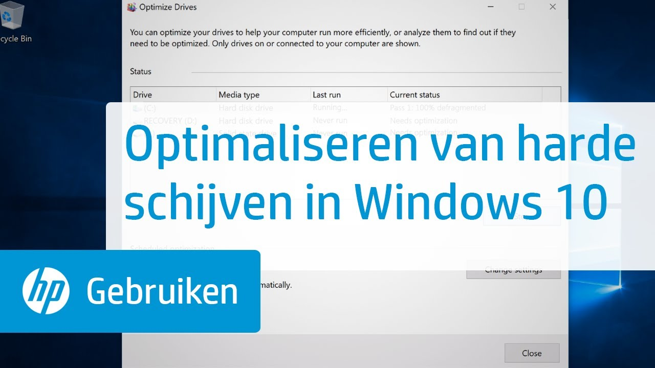 Update windows 10 % schijfgebruik | Hardware Info
