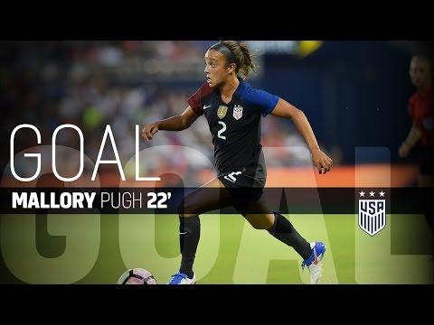 WNT vs. Costa Rica: Mallory Pugh Goal - July 22, 2016