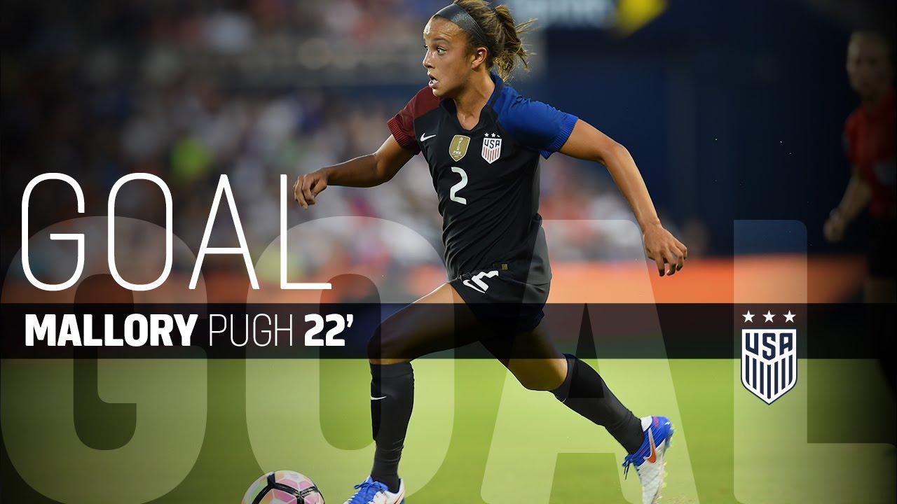 WNT Vs Costa Rica Mallory Pugh Goal July 22 2016