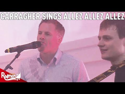 Jamie Carragher Sings Allez Allez Allez And Virgil Van Dijk With Jamie Webster!