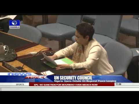 UNSC: Nigeria Opens Debate On Regional Peace Keeping 19/08/15