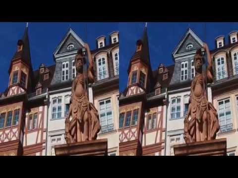 Frankfurt Germany visit in (3D) Sony HDR-TD30V