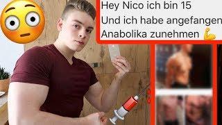 Anabolika mit 15 - REAKTION AUF JUGENDLICHE BODYBUILDER