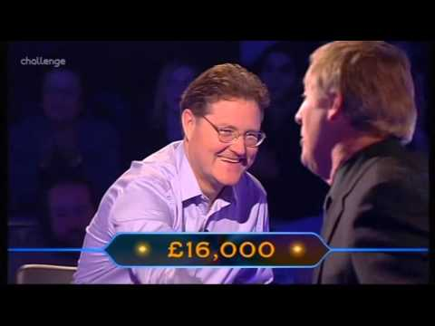 Who Wants to be a Millionaire 12th February 2002 Patrick Calthrop