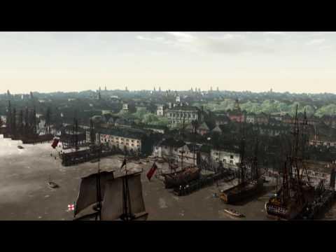 17th Century London Documentary Film City Animation