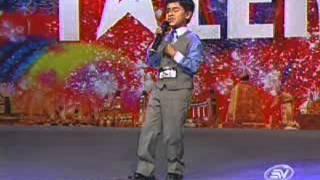 Ecuador tiene talento Jonatan Castro