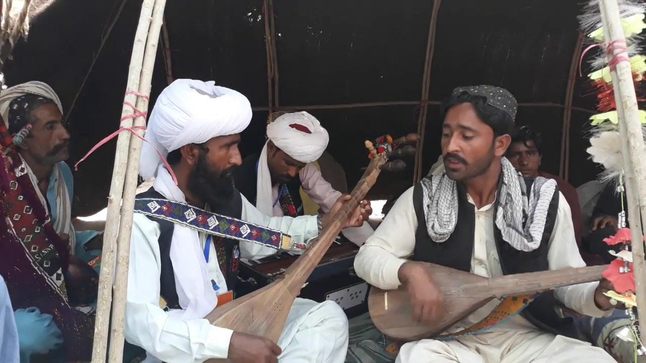 Balochi saz o zemal program at Sibi
