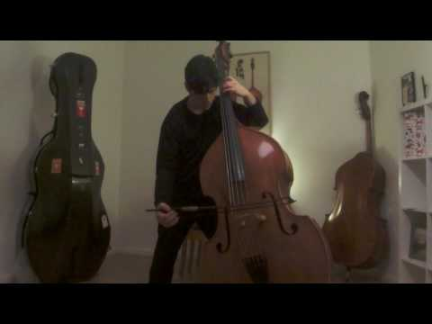 Rebecca Saunders   Fury for 5 String Bass Solo (Please Watch HD) Bernardo Alviz