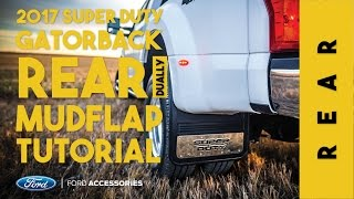 Video 2017 Ford Super Duty Dually REAR Install Tutorial No Voice download MP3, 3GP, MP4, WEBM, AVI, FLV April 2018