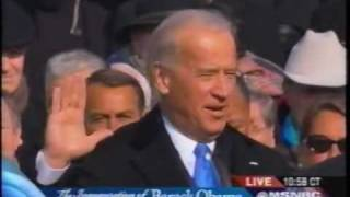 Joe Biden sworn in as Vice President of the USA