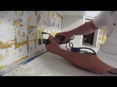 How to install glass mosaic tile backsplash, Part 1 Prepping the walls