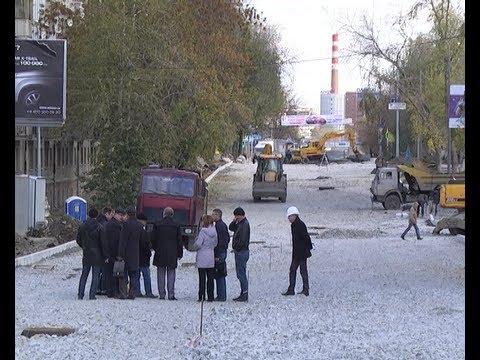 Ремонтные работы на улице Фурманова на участке от Белинского до Чапаева подходят к концу.