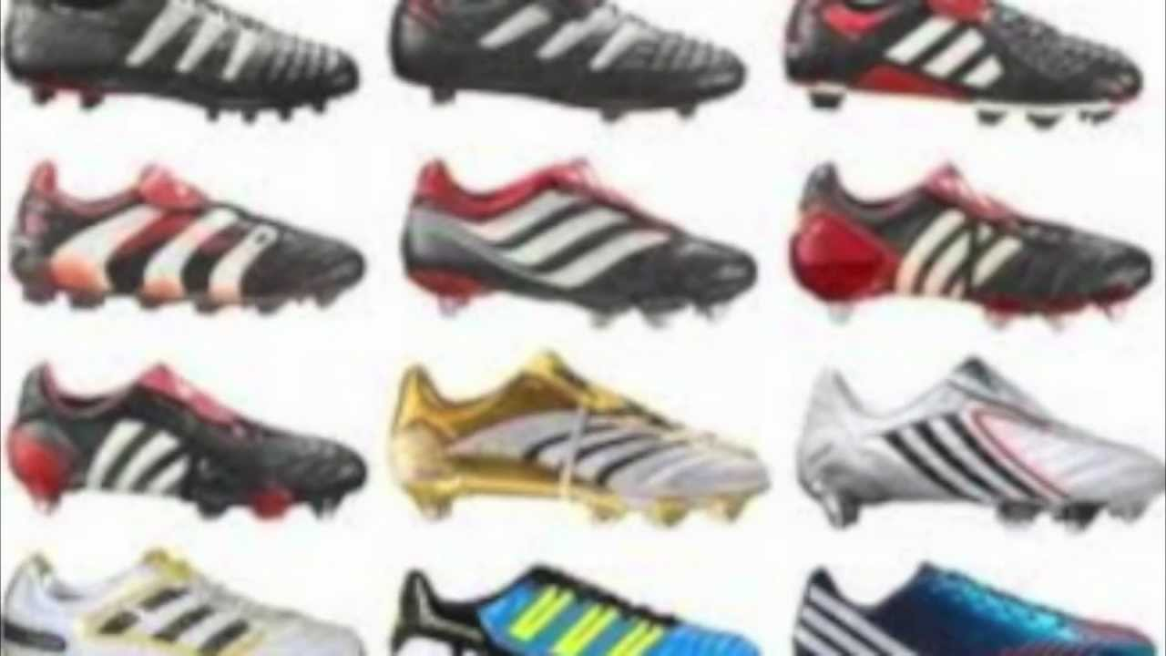on sale 85909 1e01d HISTORY OF THE ADIDAS PREDATOR (1998-2012) - YouTube