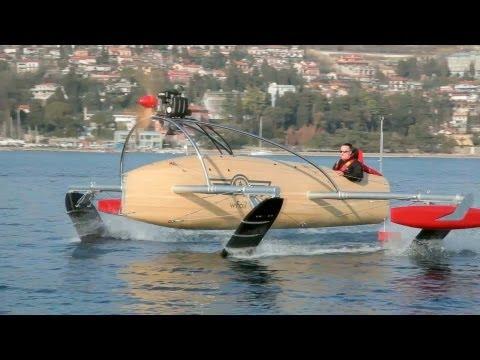 wFoil 18 Albatross ZERO Prototype - The Flying Boat