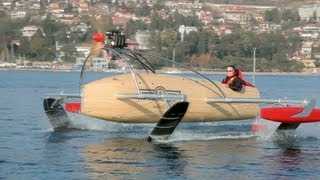 Repeat youtube video wFoil 18 Albatross ZERO Prototype - The Flying Boat