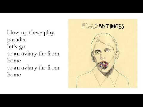 foals - olympic airways -lyrics-