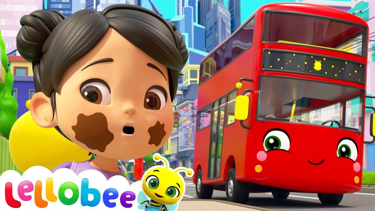 Wheels On The Bus | NEW | Cartoons & Kids Songs | Moonbug Kids - Nursery Rhymes for Babies