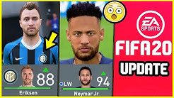 NEW FIFA 20 UPDATE - NEW TRANSFERS, NEW Players Added, NEW Player Ratings & Potentials