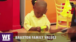 Braxton Family Values | Logan Is a Natural Godzilla | WE tv