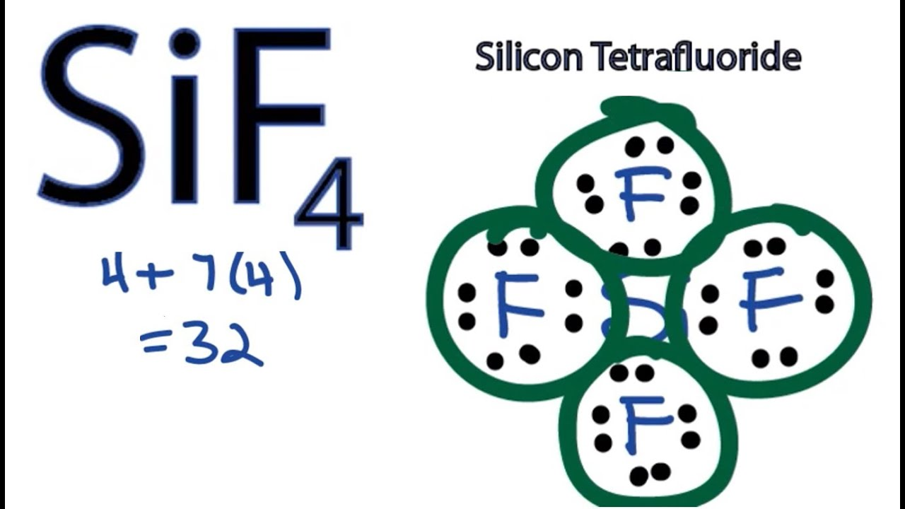 lewis dot diagram for silicon wiring diagram for you silicon tetrachloride diagram sif4 lewis structure how [ 1365 x 776 Pixel ]