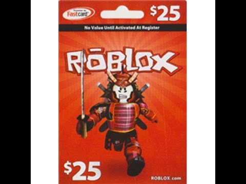 Roblox Giveaway- Gift Card Codes 2017 - YouTube