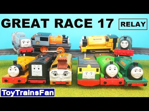 thomas-&-friends-great-race-#17---fun-with-toy-trains.-tomek-i-przyjaciele---wielki-wyścig-17