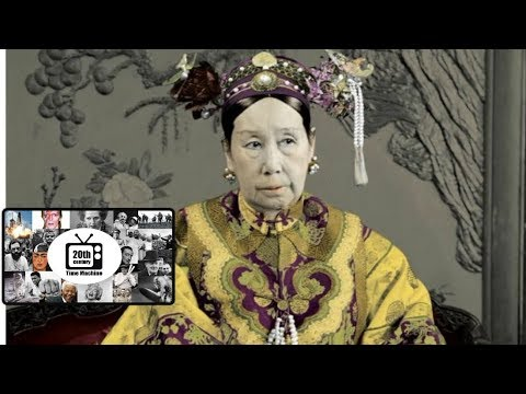 Empress Dowager Cixi and the Boxer Rebellion (anti-Foreign, anti-Christian Movement) in China.