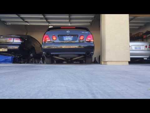 Lexus Gs430 ( 3uz-fe 4.3 v8) Full Custom Mac Pro Chamber Exhaust System