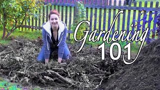Hugelkultur P.2: Building A Self-watering Raised Bed - Building A Garden The Basics: Part 2