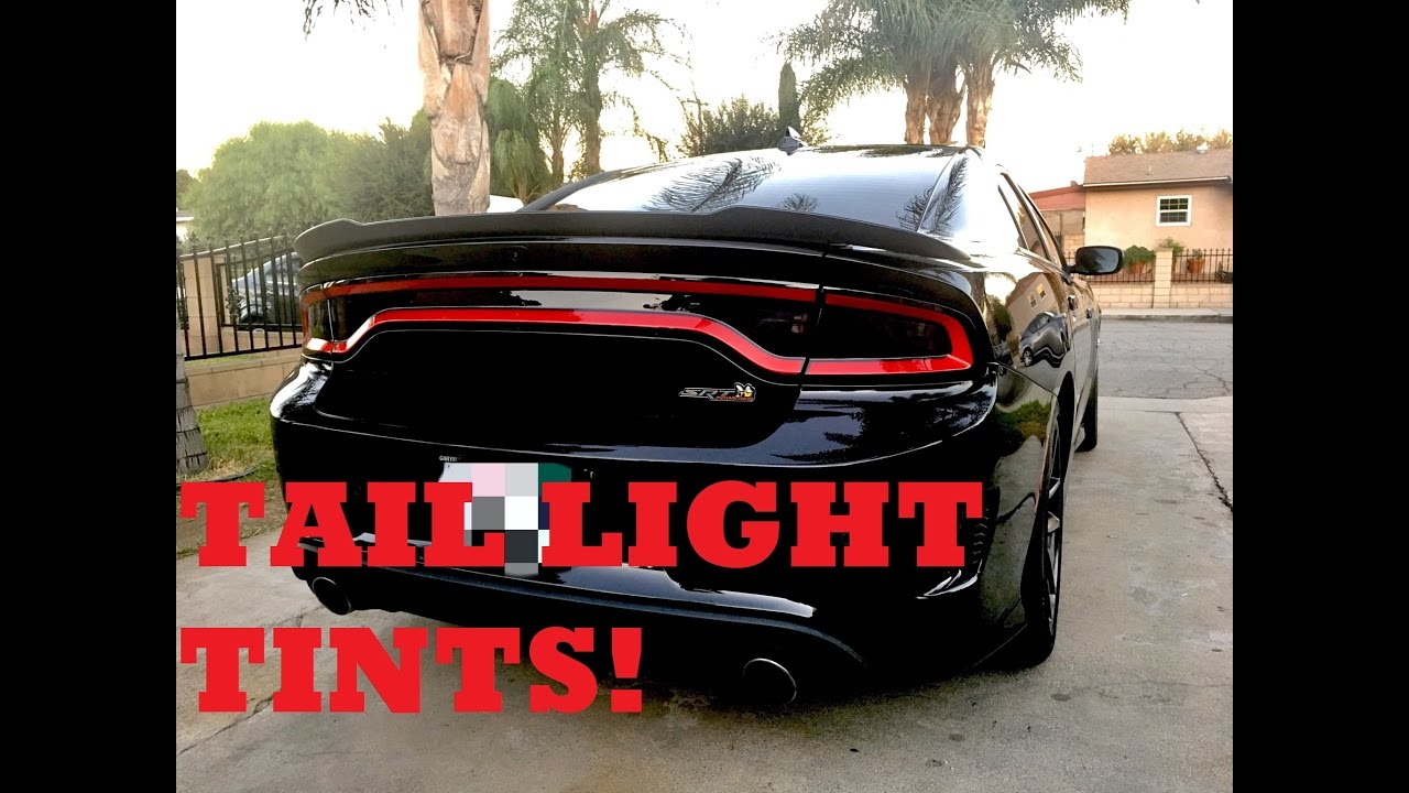 Dodge Charger 2016 >> 2015+ Dodge Charger Tail Light Tints - Luxe Auto Concepts - YouTube