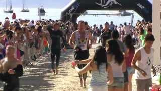 Ironman Mallorca 70.3 Swim Exit 2012 - Close