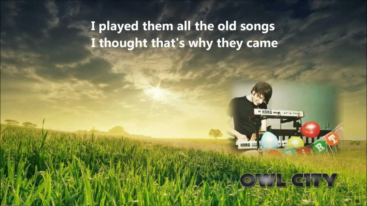 owl city garden party lyrics dwnld youtube