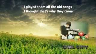 ♫ Owl City - Garden Party [Lyrics + Dwnld]