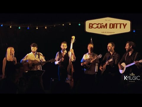 Groupe Folk Swing Bluegrass cover live Bordeaux Boom Ditty Redemption Song