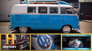 Counting Cars: UNBELIEVABLE CLASSIC '60 VW BUS (Season 9) | History