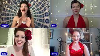 SATIN DOLLZ LIVE STREAM: Swing Back to the 40s - January, 20, 2021