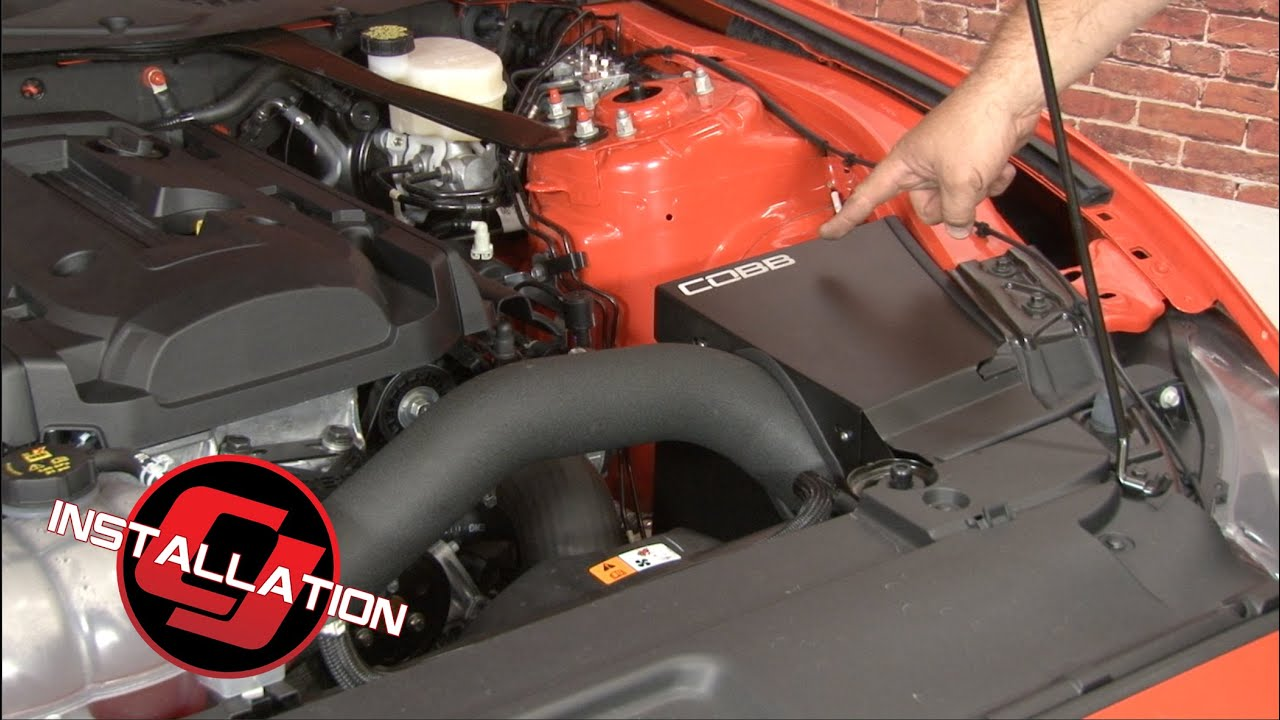 2015 2019 Mustang Ecoboost Cobb Cold Air Intake System
