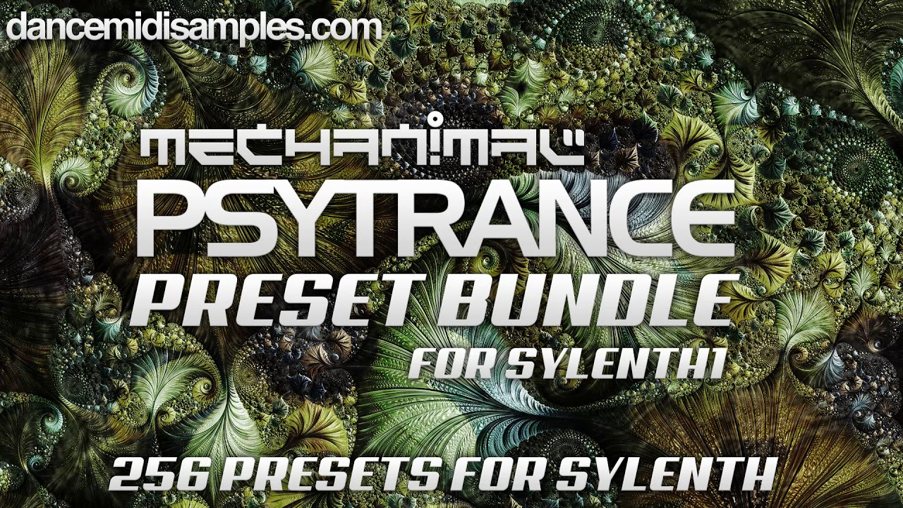 Mechanimal Psytrance Sylenth1 Sound Bank Bundle