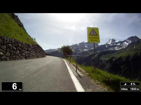 Indoor Cycling Training: Klausenpass (Suisse / Alps) - in full length!!! (Part 3/3)