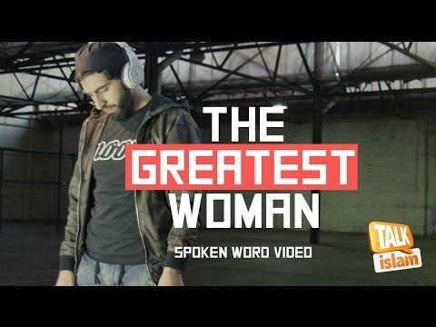 THE GREATEST WOMAN  - SPOKEN WORD