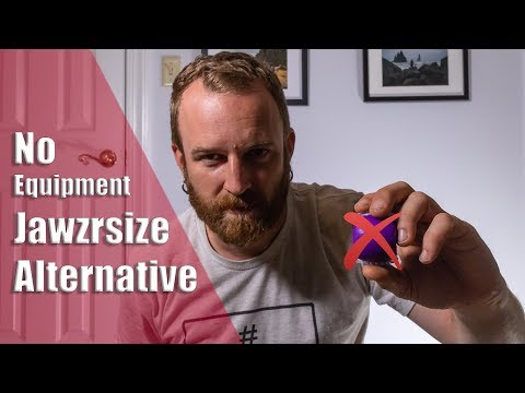 Jawzrsize Alternative - No Equipment Jaw Exercises