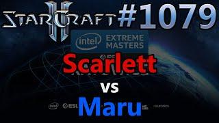 StarCraft 2 - Replay-Cast #1079 - Scarlett (Z) vs Maru (T) - IEM Katowice 2020 NA Quali [Deutsch]