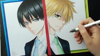 Speed Drawing - Gerald Walker | Takumi Usui (Kaichou wa Maid-sama!)