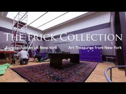 Frick Collection Mauritshuis: Opbouw tentoonstelling