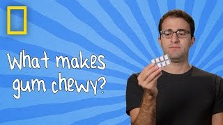 What Makes Gum Chewy? | Ingredients With George Zaidan (Episode 5)